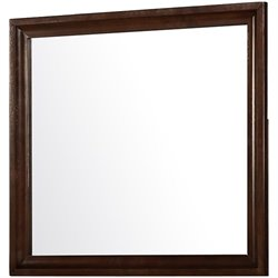 Coaster Jaxson Wooden Frame Mirror in Cappuccino