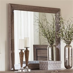 Coaster Kauffman Mirror in Washed Taupe