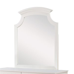 Coaster Bethany Crown Molding Mirror in White