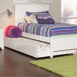 Coaster Ashton Trundle Bed in White