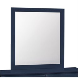 Coaster Ashton Mirror in Navy