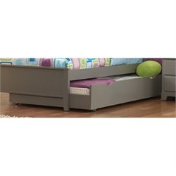 Coaster Ashton Trundle Bed in Gray
