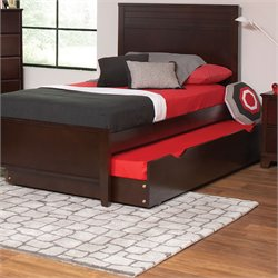 Coaster Ashton Trundle Bed in Cappuccino