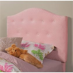 Coaster Charlotte Twin Tufted Upholstered Headboard in Pink