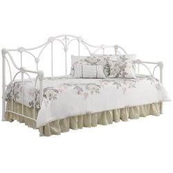 Coaster Twin Floral Daybed in White