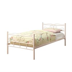 Coaster Twin Iron Bed with Headboard I