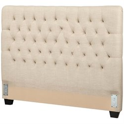 Coaster Full Upholstered Headboard in Oatmeal