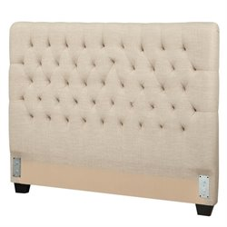 Coaster Twin Upholstered Headboard in Oatmeal