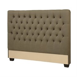 Coaster Twin Upholstered Headboard in Burlap