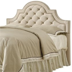 Coaster Ojai Queen Full Upholstered Headboard in Beige