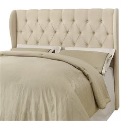 Coaster Murrieta Full Queen Upholstered Headboard in Beige