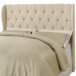 Coaster Murrieta King Upholstered Headboard in Beige
