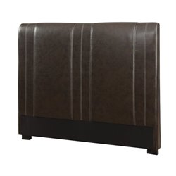 Coaster Caleb Twin Faux Leather Headboard in Brown