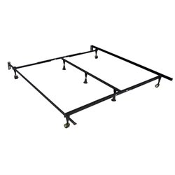 Coaster Queen King California King Bed Frame in Black