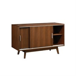 Coaster Malone Sliding Door Buffet in Dark Walnut