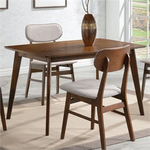 Coaster Kersey Dining Table in Chestnut