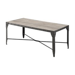 Coaster Coffee Table in Weathered Brown