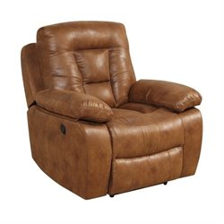 Coaster Evensky Recliner in Saddle