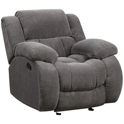 Coaster Weissman Recliner in Gray