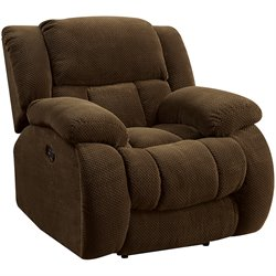 Coaster Weissman Recliner in Brown