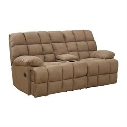 Coaster Pickett Motion Loveseat in Mocha