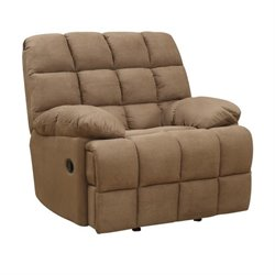 Coaster Pickett Recliner in Mocha