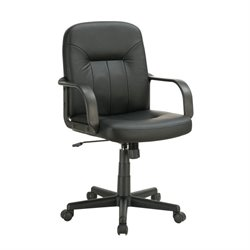Coaster Casual Office Chair in Black