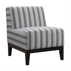 Coaster Upholstered Accent Chair in Gray
