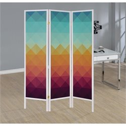 Coaster 3 Panel Folding Screen