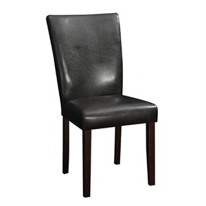 Coaster Westbrook Upholstered Dining Chair in Walnut