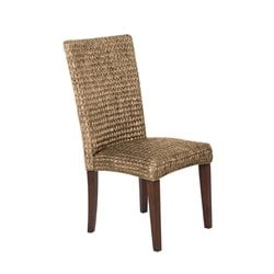 Coaster Westbrook High Back Woven Dining Chair in Natural