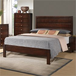 Coaster Cameron Queen Panel Bed in Cappuccino