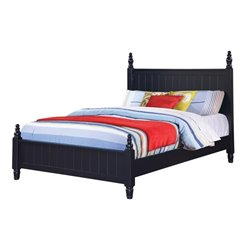 Coaster Zachary Poster Bed in Navy Blue