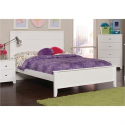 Coaster Ashton Panel Bed in White