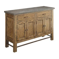 Coaster Willowbrook Bluestone Top Buffet in Chinese Ash