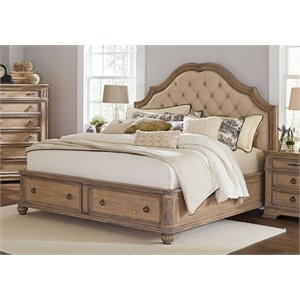 MER1219 Coaster Ilana Bed with Storage in Cream