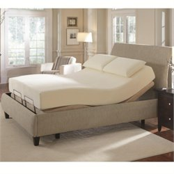 Coaster Upholstered California King Adjustable Bed
