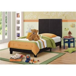 MER1219 Coaster Platform Bed in Brown