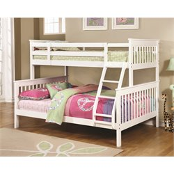 MER1219 Coaster Bunk Bed in White