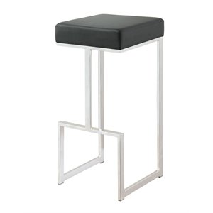 Coaster Bar Stool in Black