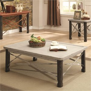 Coaster Coffee Table in White