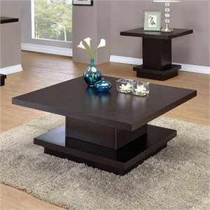 Coaster Coffee Table in Cappuccino