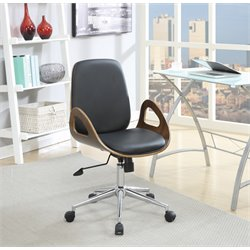 MER-1220 Coaster Modern Faux Leather Office Chair 2