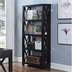 Coaster Humfrye 4 Shelf Bookcase in Cappuccino