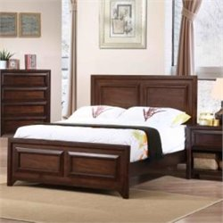 Coaster Greenough Bed in Maple Oak