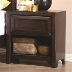Coaster Greenough Nightstand in Maple Oak