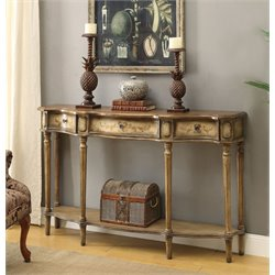Coaster Console Table in Brown