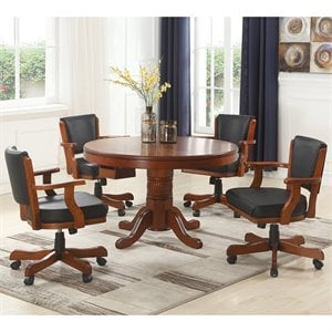 Coaster Mitchell 5 Piece 3-in-1 Game Table Set