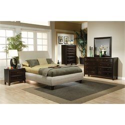Coaster 4 Piece King Sleigh Bedroom Set-N