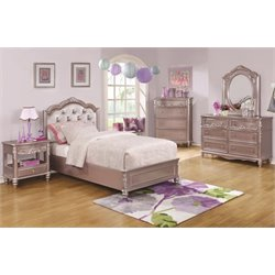 Coaster Caroline 4 Piece Tufted Storage Bedroom Set-SH